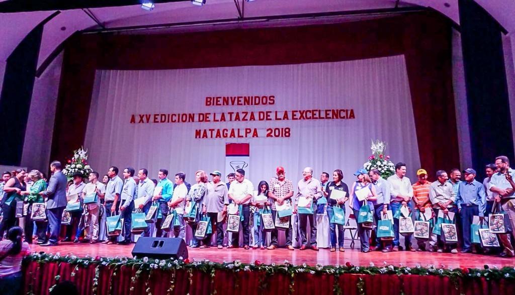 El café de la empresa toledana Qualery, reconocido como taza de la excelencia 2018 en Nicaragua.